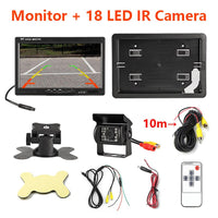 "7"" Wireless Car Monitor TFT LCD Car Rear View Camera HD monitor"