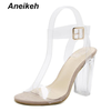Aneikeh 2019 PVC Jelly Sandals