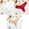 3 Pcs Panties Underwear Woman Lace Thong