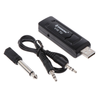 UHF USB 3.5mm 6.35mm Wireless Microphone Receiver for You Tube Karaoke