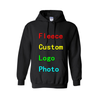 Personalized Custom Logo Photo Text Printed Men Women Hooded Sweatshirt