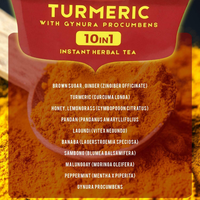 YAMANG BUKID TURMERIC 3 IN 1 INSTANT HERBAL TEA-400g