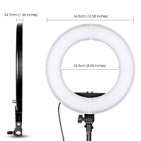 spash 18 inches Ring Light LED Photographic Lighting
