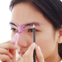 Grooming Make-Up Shaping DIY Beauty Eyebrow Template Stencils