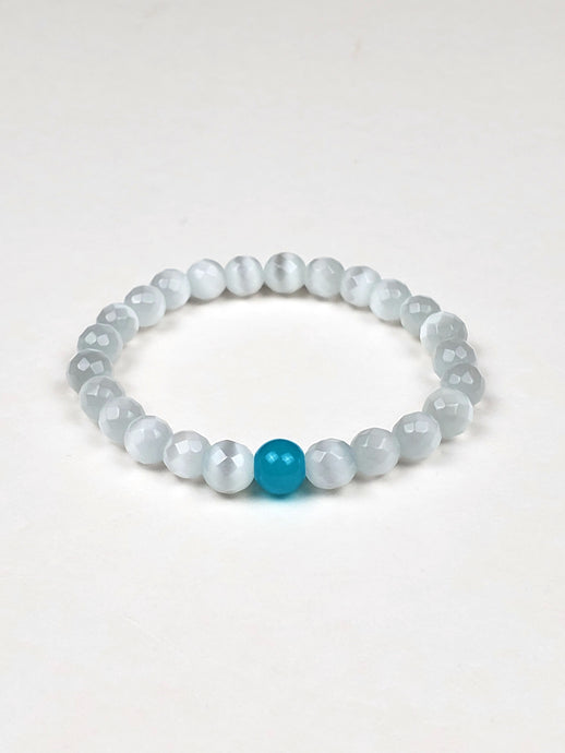 Women's Glass Bead Ice Bracelet