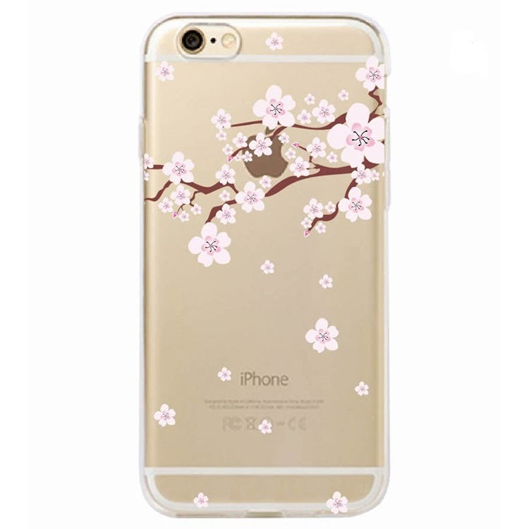 Free Cherry Blossom Phone Case For iPhone