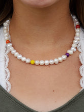 Rainbow and Freshwater Pearls Necklace | Daizeez