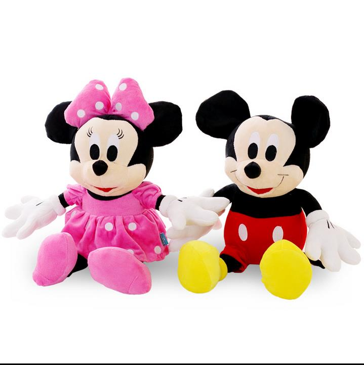 Mickey Minnie Mouse Stuffed Animals Plush Toys Dudegadget