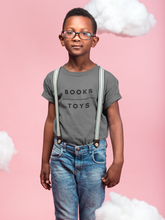 Books Over Toys Youth Short Sleeve Tee