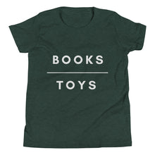 Books Over Toys Youth Tee