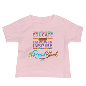 Educate, Empower, & Inspire Baby Jersey Short Sleeve Tee
