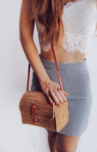 We have rattan bag wholesale fits items like purse, phone, keys, perfect as beach bag I just want a little straw day bags for short trips out!