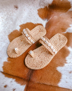 Chica Sea Shell Handmade Slippers
