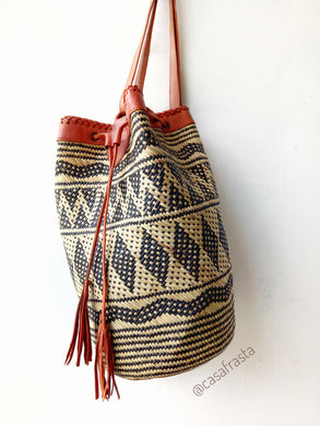 Rattan Borneo Bags Handcrafted In Wicker Style.