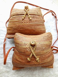 Planning vacations to Florida, our 1950s rattan bag is very affordable, you can use this basket bag all seven days and receive so many compliments.