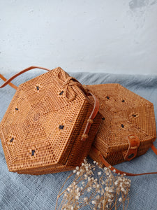 Sanur Hexagon Basket Bag
