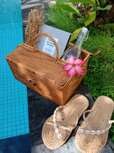 Rattan Picnic Compartment