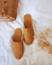 rattan bali shoes for beach