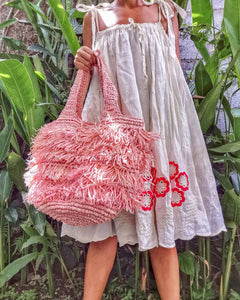 Handmade Raffia Shopper Bali Bag