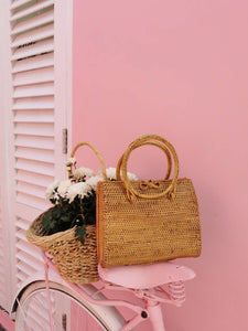 Rattan bags are from Bali, one of unique and rare Indonesian Island. If you have not visited Bali, please add it on your the bucket list.
