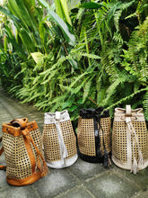 We only use high quality materials, this rattan backpack is made from organic rattan, strong and durable. In addition, this rattan bag is also eco-friendly.
