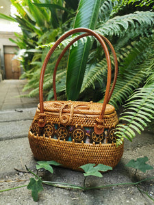 rattan handbags from bali real straw purses basket summer bags using vintage Cute Crochet Casual straw bags and purses for  Designer Idea Style For Teens In rattan outfits