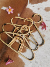 Trending rattan and bamboo hangers handcrafted in Bali from babies or kids these mini coat holders are perfect for new born gifts with free shipping