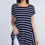 Casual Stripes Tee