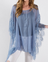 Sheer & Lace Poncho