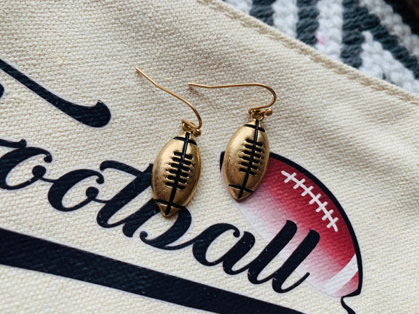 Football Earrings