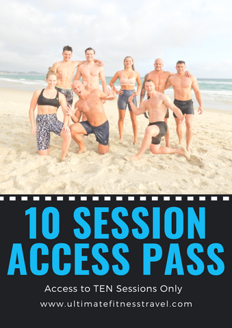 10 Session Access Pass - More Flexibility!