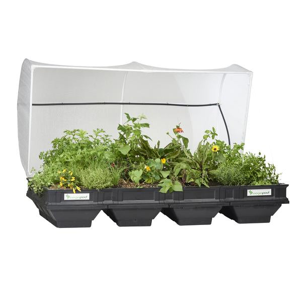 Large Raised Garden Bed with Garden Cover (TAKING PRE ORDERS - STOCK AVAILABLE 10th APRIL)