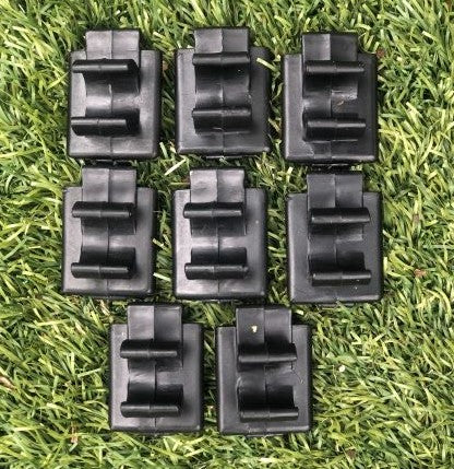 Replacement Hinge Clips - set of 8