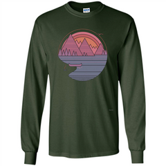The Mountains Are Calling I Must Go T-shirt LS Ultra Cotton Tshirt - WackyTee