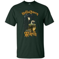 HalloQueen Are Born In March T-shirt Custom Ultra Tshirt - WackyTee