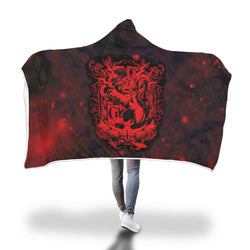 The Gryffindor Lion (Harry Potter) 3D Hooded Blanket