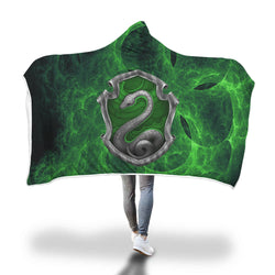 Cunning Like A Slytherin Harry Potter 3D Hooded Blanket