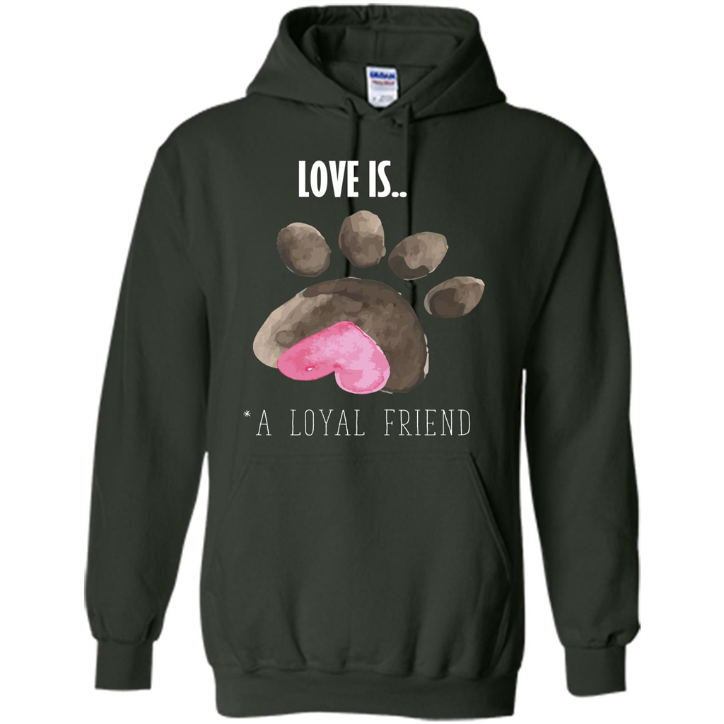 Dogs love dogs loyal companions | Pullover Hoodie