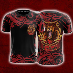 Brave Like A Gryffindor Harry Potter Unisex 3D T-shirt