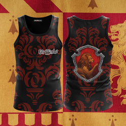 Brave Like A Gryffindor Harry Potter New Collection Harry Potter 3D Tank Top