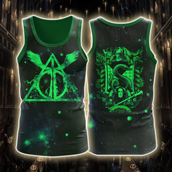 The Slytherin Snake Harry Potter 3D Tank Top