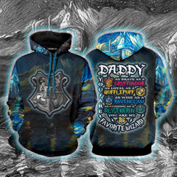 Daddy - You Are My Favorite Wizard Harry Potter Hoodie