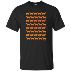 Corgi Copy Paste T-shirt Corgi Lover T-shirt Custom Ultra Tshirt - WackyTee