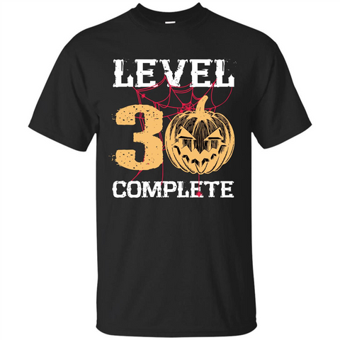 Halloween T-shirt Level 30 Complete Black / S Custom Ultra Tshirt - WackyTee