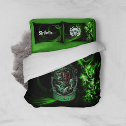 Cunning Like A Slytherin Harry Potter Bed Set