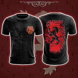 The Gryffindor Lion Harry Potter 3D T-shirt