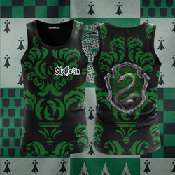 Cunning Like A Slytherin Harry Potter New Collection 3D Tank Top