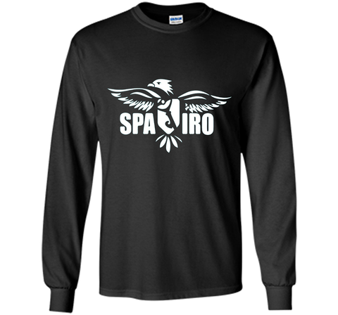 SPAIRO Team Shirt cool shirt Black / S LS Ultra Cotton Tshirt - WackyTee