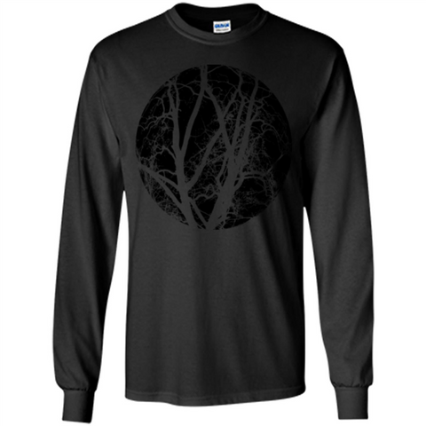 Tree Of Life T-shirt Save Our Planet Black / S LS Ultra Cotton Tshirt - WackyTee