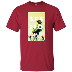 Glitched Sparrow T-shirt Custom Ultra Tshirt - WackyTee